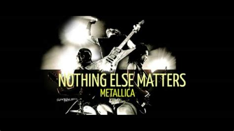 Nothing else matters - Metallica - Biggy Styles Records