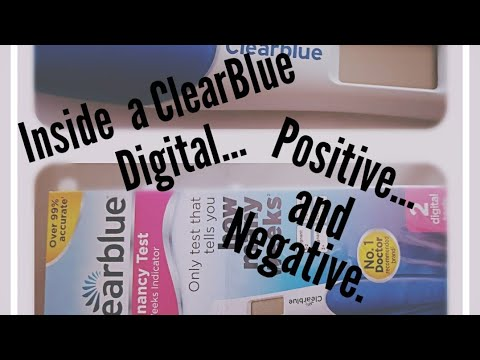 Clear blue faint positive digital negative | Mumsnet