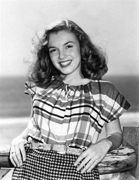 August 26, 1946, Norma Jean Baker signs a contract with
