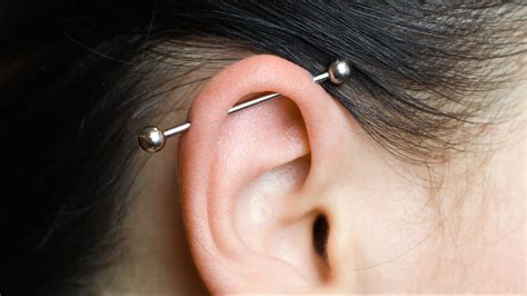 INDUSTRIAL PIERCING ★ Red Lipstick Monster ★ - YouTube