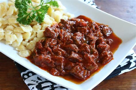 Traditional Hungarian Goulash (Gulyás) - The Daring Gourmet