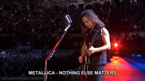 METALLICA - Nothing Else Matters (HD) español traducida