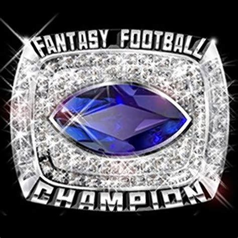 Fantasy football league ring sales expecting spike as NFL