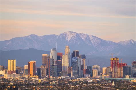 The Los Angeles Skyline and Where to See It