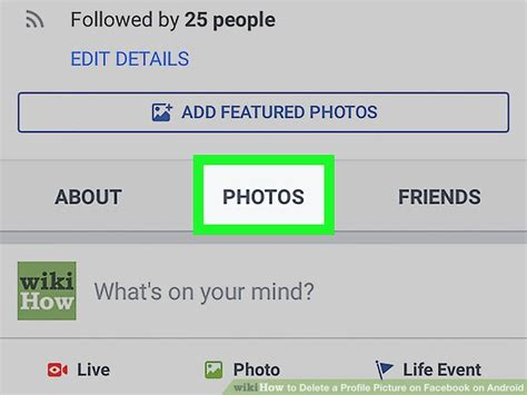 How to Delete a Profile Picture on Facebook on Android: 10