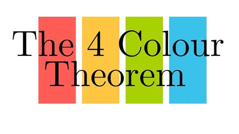 The Four Colour Theorem - YouTube