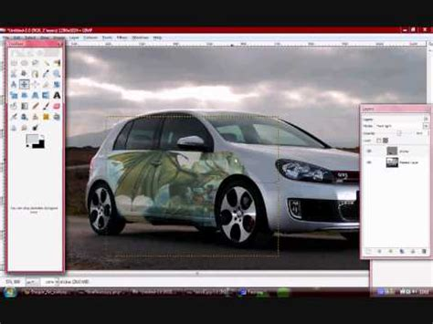 Gimp graphics and stickers virtual tuning