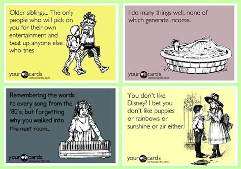 Living in Neverland: Tuesday 10 - My Favorite Ecards!