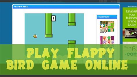 Play Flappy Bird Game Online-5 Website to Play Free - YouTube