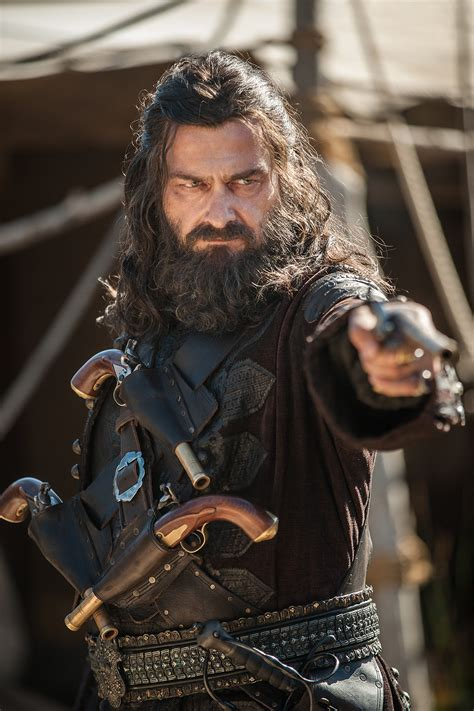 Ray Stevenson Joins Starz's Black Sails as Blackbeard