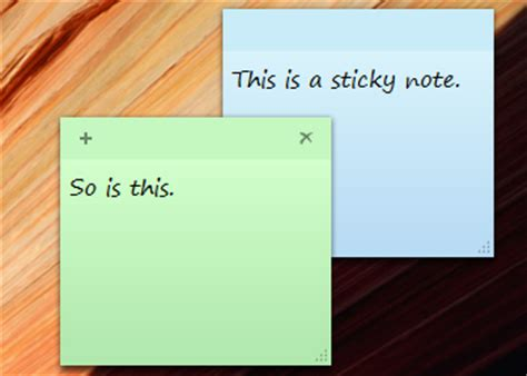 Create Sticky Notes in Windows 7 | PCWorld