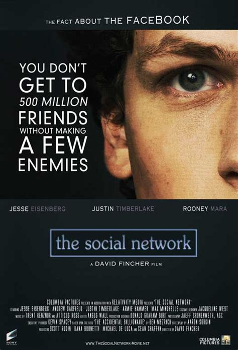 The Movie Man Movie Reviews: Review of The Social Network