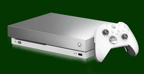 This Limited Edition Platinum Xbox One X Is Very Nice