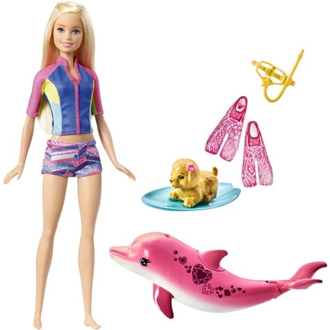 Barbie Dolphin Magic Snorkel Fun Friends - Barbie UK