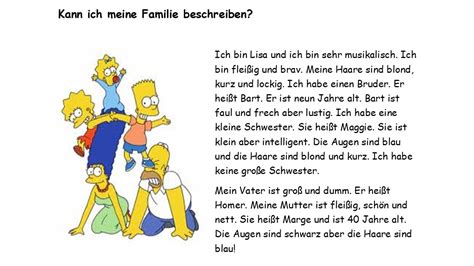 03 Familie 1: Meine Familie - My Family - BPS German Primary