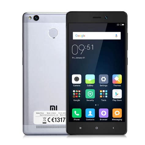 International Version Xiaomi Redmi 3S 3GB 32GB Smartphone