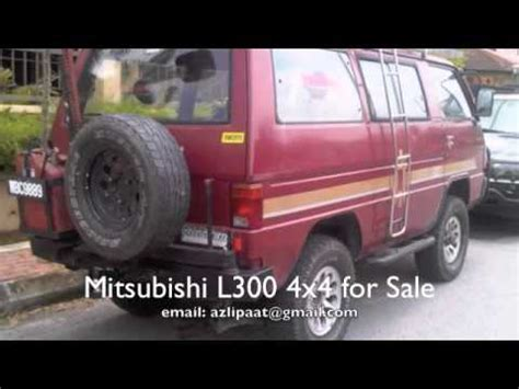 Mitsubishi L300 4x4 Off road Van Malaysia for sale