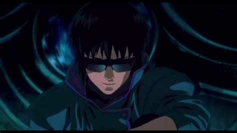 Ghost in the Shell (1995) rooftop drop scene - YouTube