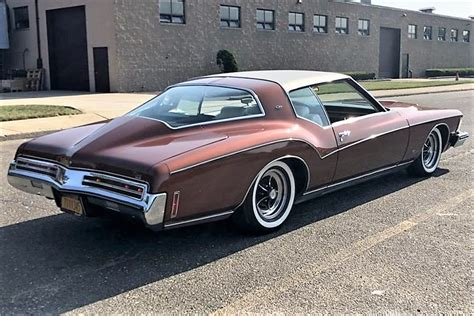 Bold-boattail 1973 Buick Riviera in low-mileage preserved