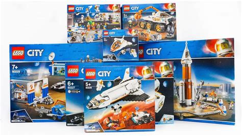 ALL LEGO City Space Compilation 2019 Speed Build - YouTube