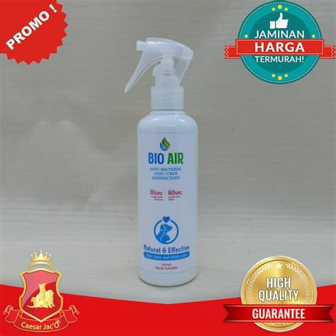 Bio Air - Spray Anti Virus dan Bakteri - Natural