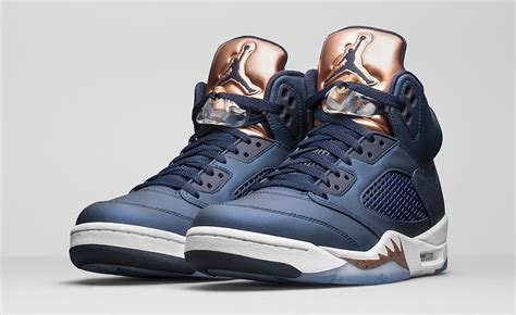 "Air Jordan 5 Retro ""Bronze"" - Soleracks"