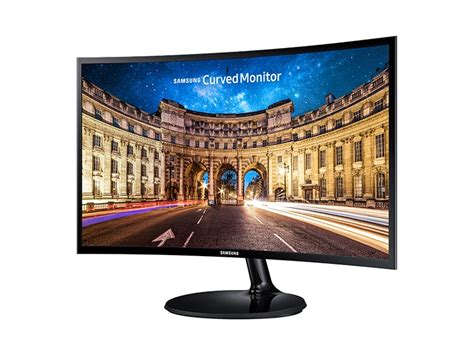 "24"" Curved LED Monitor Monitors - LC24F390FHNXZA 