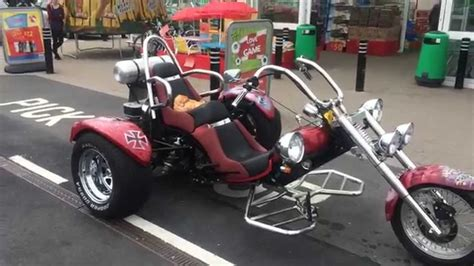 VW Trike - Red Baron - YouTube
