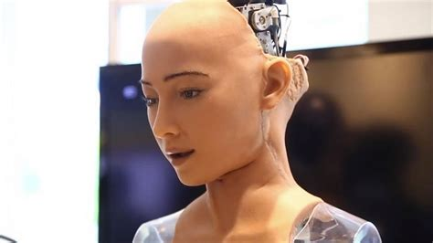 Watch Sophia the 'sexy robot' claim she will 'destroy