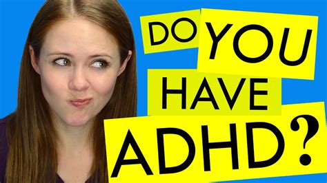 How to Know if You Have ADHD - YouTube