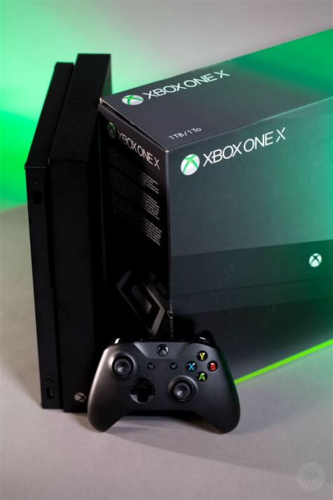 The Xbox One X looks unremarkable, except for its size