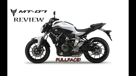 Yamaha MT07 Review - YouTube