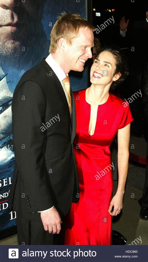 Paul Bettany and his wife Jennifer Connelly at a screening