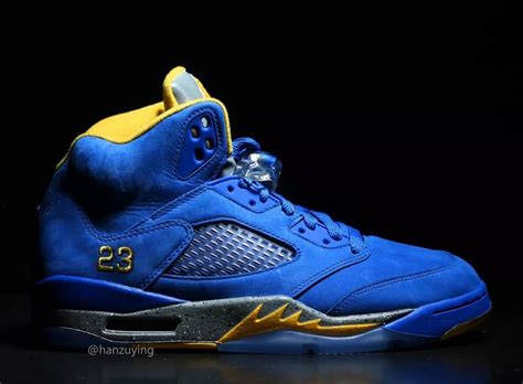 Air Jordan 5 JSP Laney Varsity Maize Varsity Royal Release