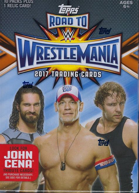 2017 WWE Road to WrestleMania Trading Cards (Topps) | Pro