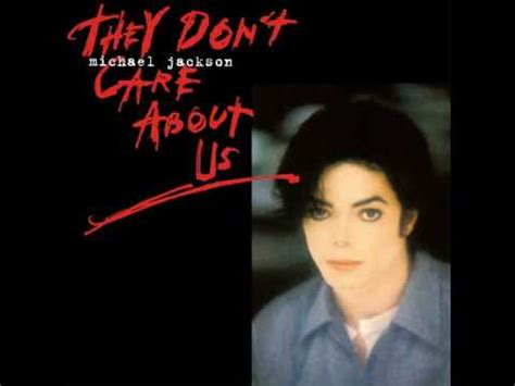 Michael Jackson - They Don't Care About Us (Single Version