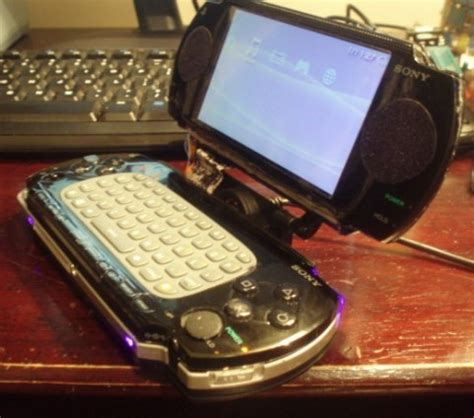 PSP Laptop Mod with QWERTY Keyboard | Ps3 Maven