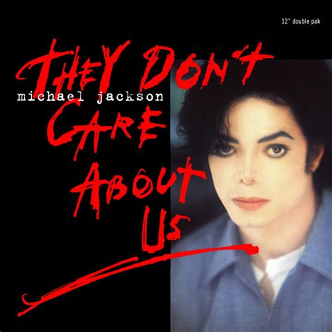 Michael Jackson - They Don't Care About Us (1996, Vinyl