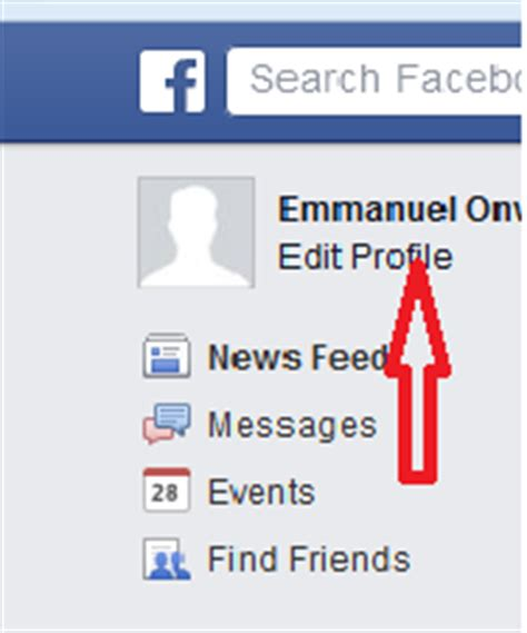 How to delete facebook profile picture without adding new