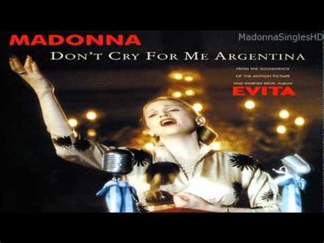 Madonna - Don't Cry For Me Argentina (Miami Spanglish Mix