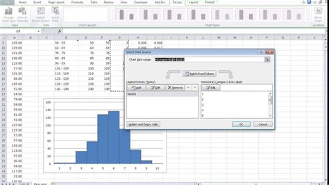 How to Make a Dynamic Histogram in Excel - YouTube