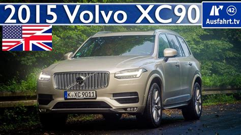 2015 Volvo XC90 D5 AWD - Full Test, In-Depth Review and