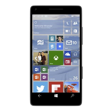 Our first look at Windows 10 on phones, and Universal Apps
