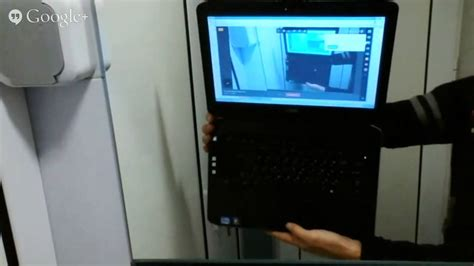 Dell Latitude E5430 Web Camera test on Google+ hangouts