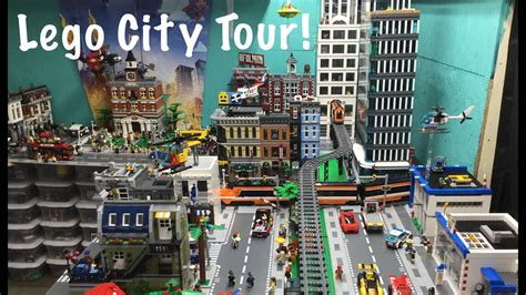 Lego City Tour/ Update! August 2016 - YouTube