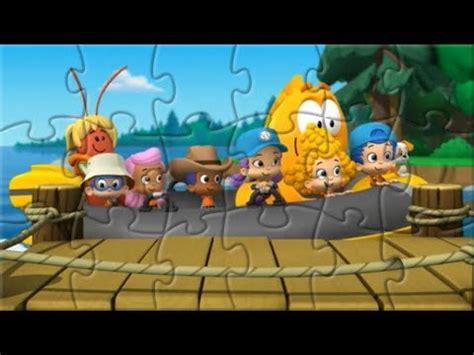 Bubble Guppies Boat Jigsaw Puzzle Game For Kids